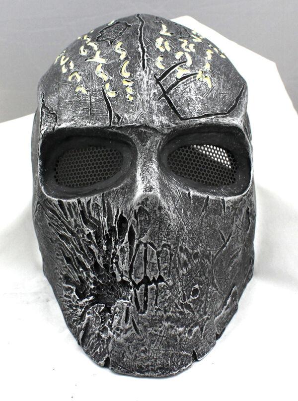 NEW Fiberglass Resin Mesh Eye Airsoft Paintball Full Face Predection Mask M0795