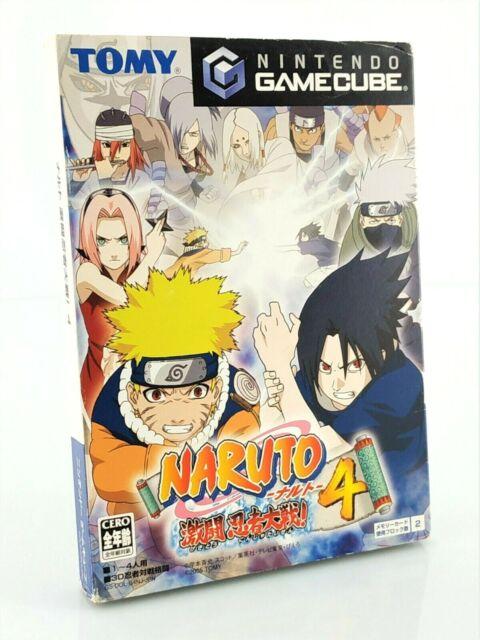Naruto Gekitou Ninja Taisen 4 - Nintendo Gamecube GC JAP Japan complet