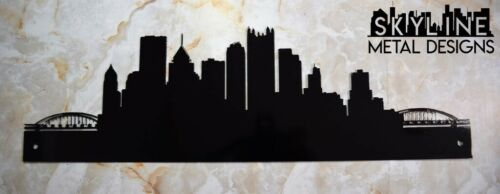 Pittsburgh Skyline Metal Wall Art Home Decor Gift Idea