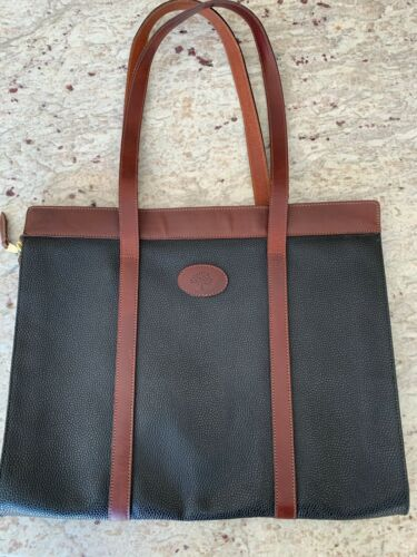 Mulberry leather satchel bag, in great vintage con