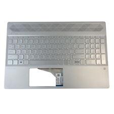 Keyboards4Laptops German Layout Backlit Silver Windows 8 Laptop Keyboard for HP Pavilion 15-cd005AX HP Pavilion 15-cd005no HP Pavilion 15-cd005la HP Pavilion 15-cd005np HP Pavilion 15-cd005nv