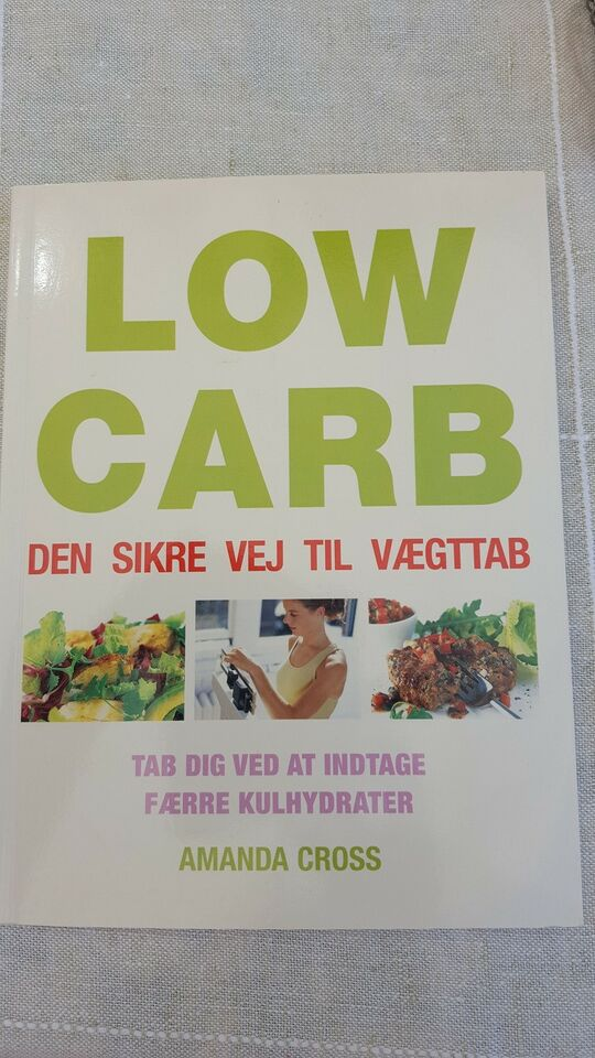 LOW CARB, AMANDA CROSS, emne: mad og vin