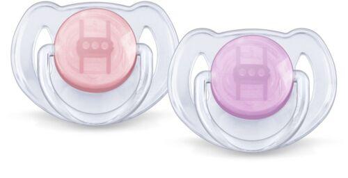 Philips avent orthodontique translucide sucettes 0-6//6-18M garçons//filles