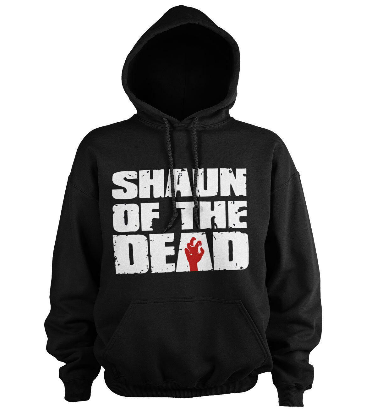 Officially Licensed Shaun of the Dead Logo Hoodie S-XXL Größes