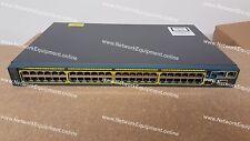 Cisco WS-C2960S-48TS-S Gigabit switch 2960S-48TS-S