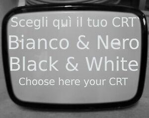 CRT Tube, Cinescopio Bianco e Nero, Tubo Catodico, Cathode Ray Tube , New  Nuovi
