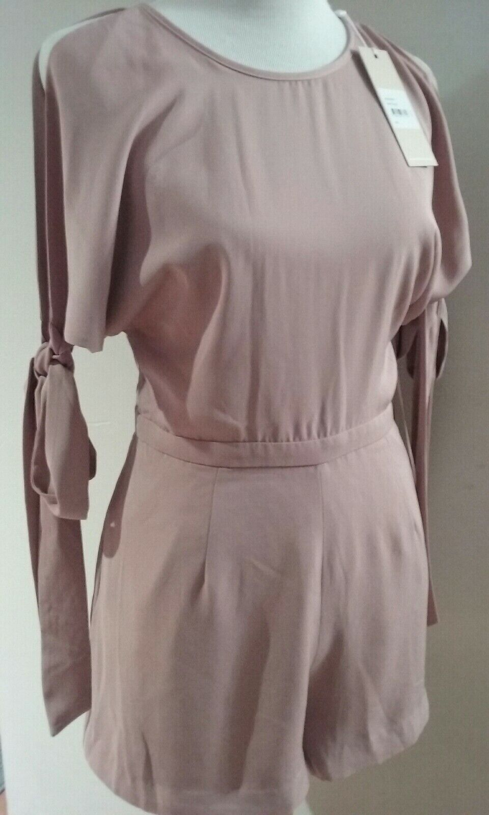 KEEPSAKE The Label pink Musk Two Minds Romper Divinity Playsuit Size L