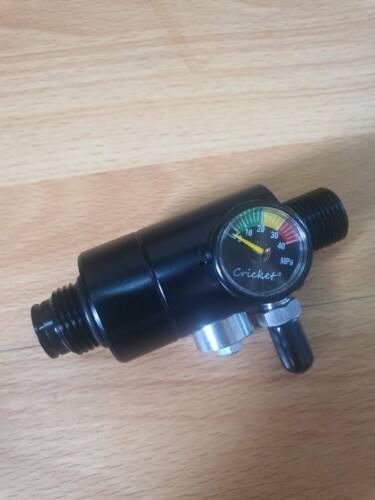 Airgun External adjustable regulator for Gas to HPA