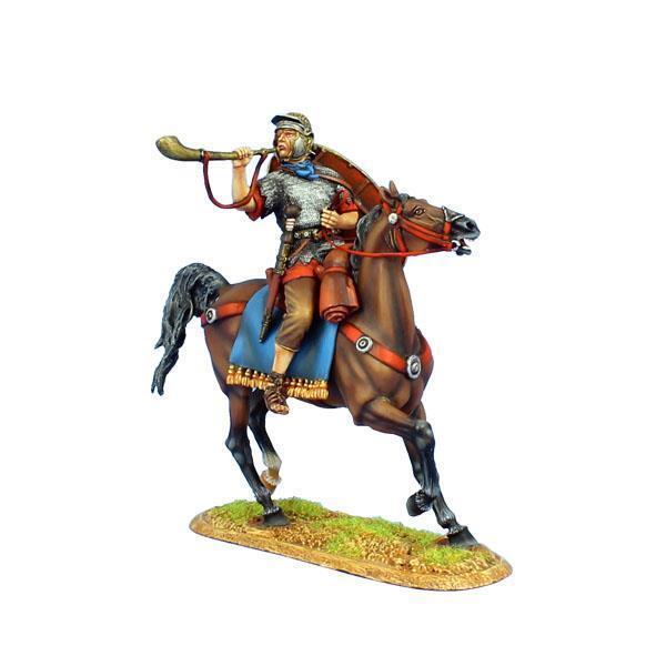 First Legion - ROM119 - Imperial Roman Hilfskräfte Kavallerie Trumpeter - ROM