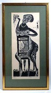 Karl-Heinz-HANSEN-BAHIA-1915-1978-Lasziver-weiblicher-Akt-auf-Stuhl-HB8