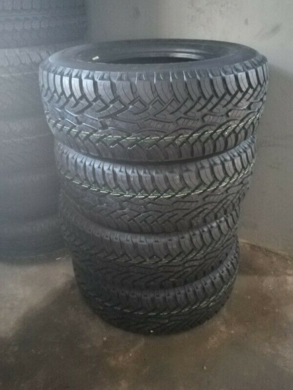 4 x brand new 265 65 17 continental cross contact AT tyres.
