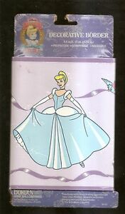 Disney's Cinderella - Prepasted Decorative Border 8.4 sq Ft. by Borden NEW NIP