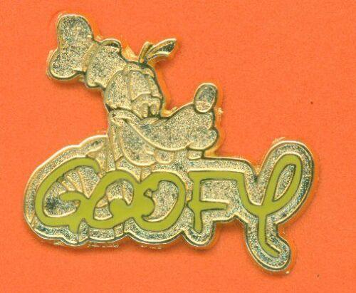 GOOFY SIGNATURE 2004 DLR Cast Member Lanyard Disney Pin 30210