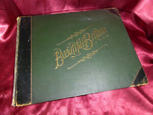 Antique-BEAUTIFUL-BRITAIN-Book-1894-Scenery-amp-Splendours-of-UK-Stately-Houses