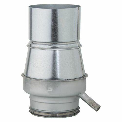 Kondenswassersammler NW125 für Unterdachmontage verzinkt