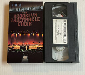 THE BROOKLYN TABERNACLE CHOIR  LIVE AT MADISON SQUARE GARDEN VHS