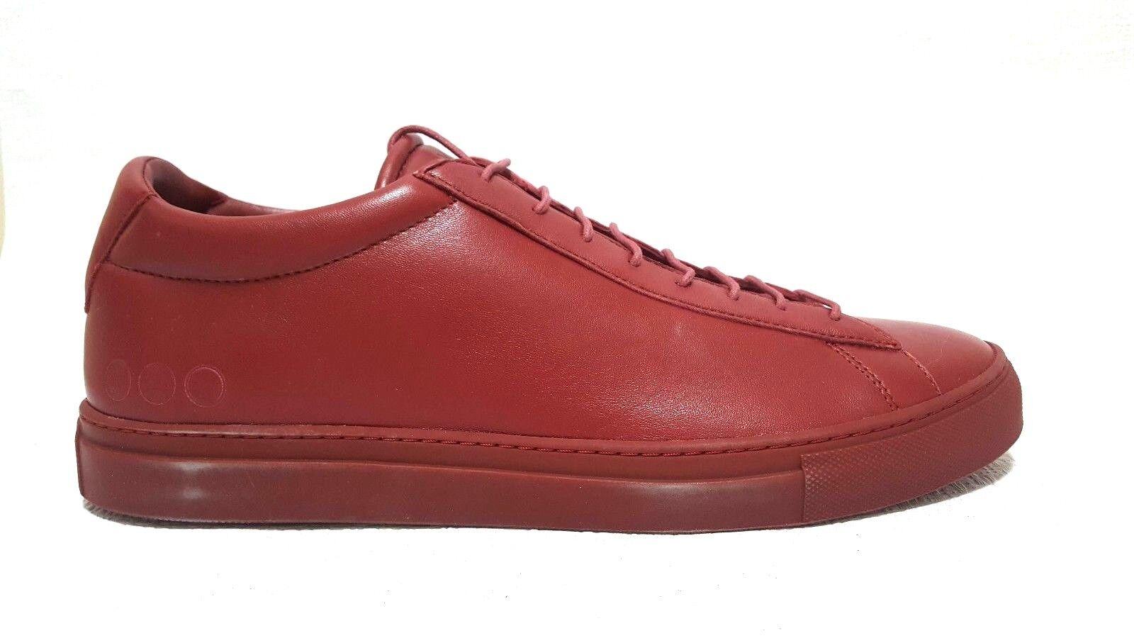 Prima forma drew Uomo di bassa cima di scarpe di Uomo pelle rossa rari scarpa ef097a