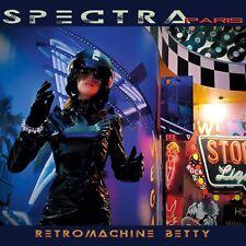 SPECTRA PARIS Retromachine Betty CD Digipack 2017 (KIRLIAN CAMERA)