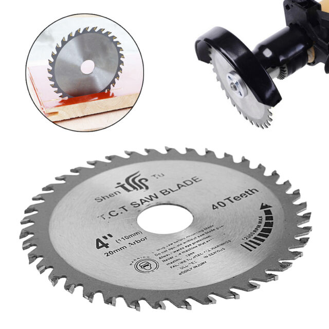 40t Circular Saw Blade 4 Inch Wood Cutting Round Discs Sawing Cutter Tools