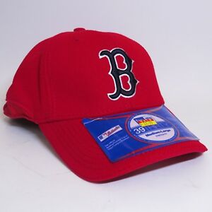 62ac7ab37d8e5 NEW ERA 39THIRTY BOSTON RED SOX MLB MD LG STRETCH FIT CAP HAT - RED ...
