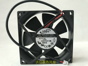 1PC ORITEK A8025M12B 8025 8cm 12V 0.22A 2-wire chassis power cooling fan