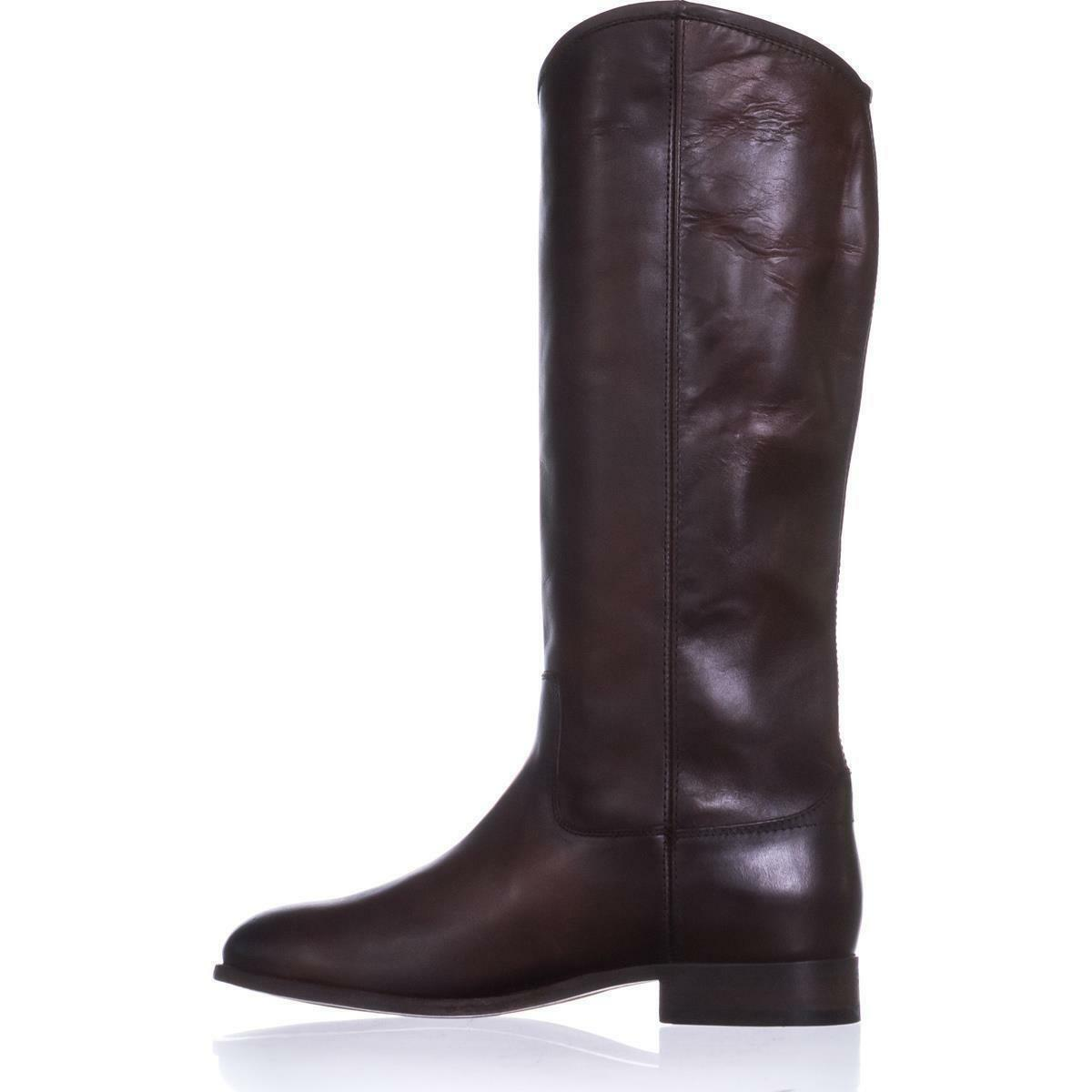 WOMEN'S FRYE MELISSA BUTTON 2 RIDING BOOTS IN REDWOOD 75448 75448 75448 ebd002