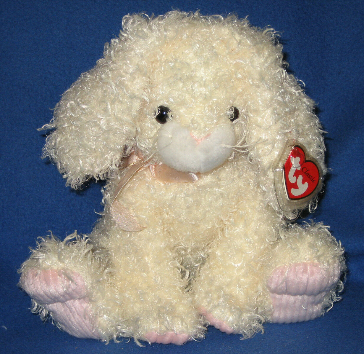 TY CLASSIC PLUSH - HARESTON the BUNNY - MINT with MINT TAGS