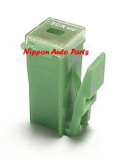 SLOW BLOW FUSE - PAL MINIATURE & LOCKING CLIP TYPE 30 AMP JAPANESE GREEN OR PINK