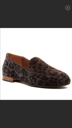 Bronze Textured Leather Leopard Donald J Pliner Lo