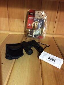 BUSHNELL-12x25-240ft-1000yds-Compact-Foldable-Binoculars-Black-Travel-Hunting