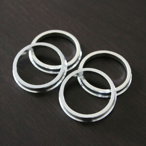4 Hub centric rings Aluminum Hubrings74.1mm Wheels to 71.5mm Car Hub
