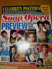 SOAP OPERA MAGAZINE 1997 Sam Behrens Winsor Harmon Amber Tamblyn Eddie Cibrian