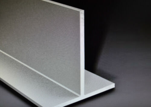 """aluminium T section extruded bar tee 1//2/"""" 3//4/"""" 1/"""" 13mm 19mm 25mm 300mm 1000mm"""
