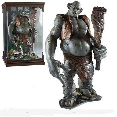 Figurine Créatures Magiques Harry Potter   Troll - Noble Collection (Neuf)