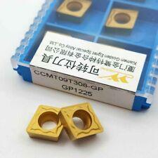 WALTER CCMT 09T304-PF WAP10 Lathe Carbide Inserts 10 Pcs Turning Tools