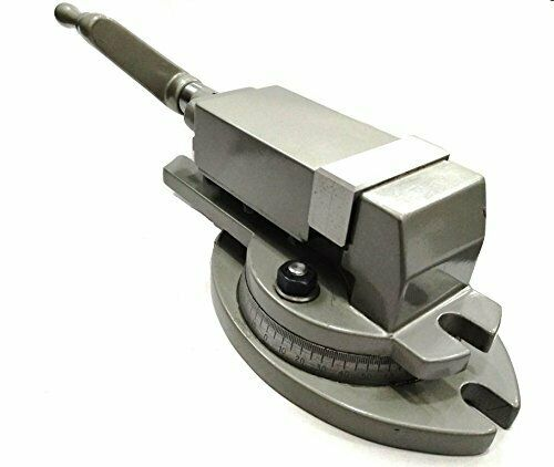"""Milling Vice-Hardened Jaws High Precision Milling Vise Swivel Base 2/"""" 50 mm"""
