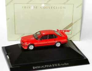1-87-Alpina-B10-BiTurbo-Basic-BMW-5er-E34-red-red-herpa-Private-Collection-20065