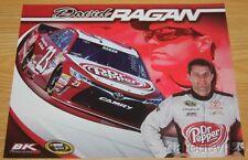 2016 David Ragan Dr. Pepper Toyota Camry NASCAR Sprint Cup postcard