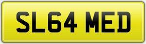 SLAMMED-RARE-REG-NUMBER-PLATE-SL64-MED-VW-VOLKSWAGEN-T6-STANCE-LOW-MODIFIED