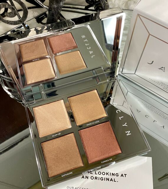 Jaclyn Cosmetics Morphe The Flare Accent Light Highlighter Palette Authentic For Sale Online Ebay Under eye concealer & highlighter. jaclyn cosmetics morphe the flare accent light highlighter palette authentic