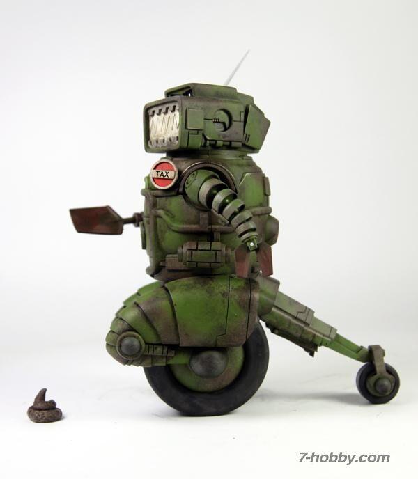 Envíe ya THREEA 2018AD ABC guerreros Ro-mandíbulas figura de Ashley Wood Designer Toys