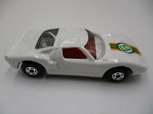 Vintage-Matchbox-Ford-Gt-No-41-Blanco-Superfast-variacion-Muy-Raro-Sin-Caja-SFB