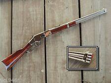 Collector Classic Deluxe Finish Replica 1866 Winchester Rifle Cowboy Prop Gun