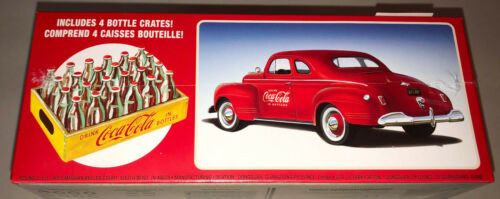 AMT 1941 Plymouth Coupe Coca Cola Coke 1:25 scale model car kit new 1197