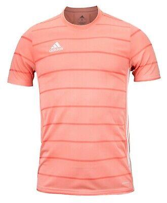 Adidas Men CAMPEON 21 T-Shirts Jersey Training Pink Soccer Top Tee ...