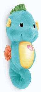 Brand-New-Fisher-Price-Smoothe-amp-Glow-Seahorse-Blue