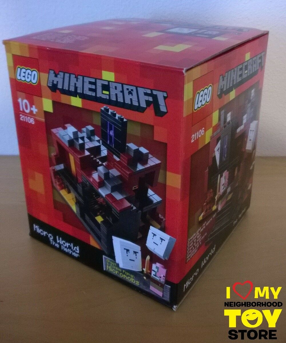 RETIROT - LEGO 21106 MINECRAFT™ MICRO WORLD THE NETHER (2013) - MISB