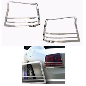 For 2006-2010 Dodge Charger Chrome Mirror Door Handle Tail Light Bezel Cover