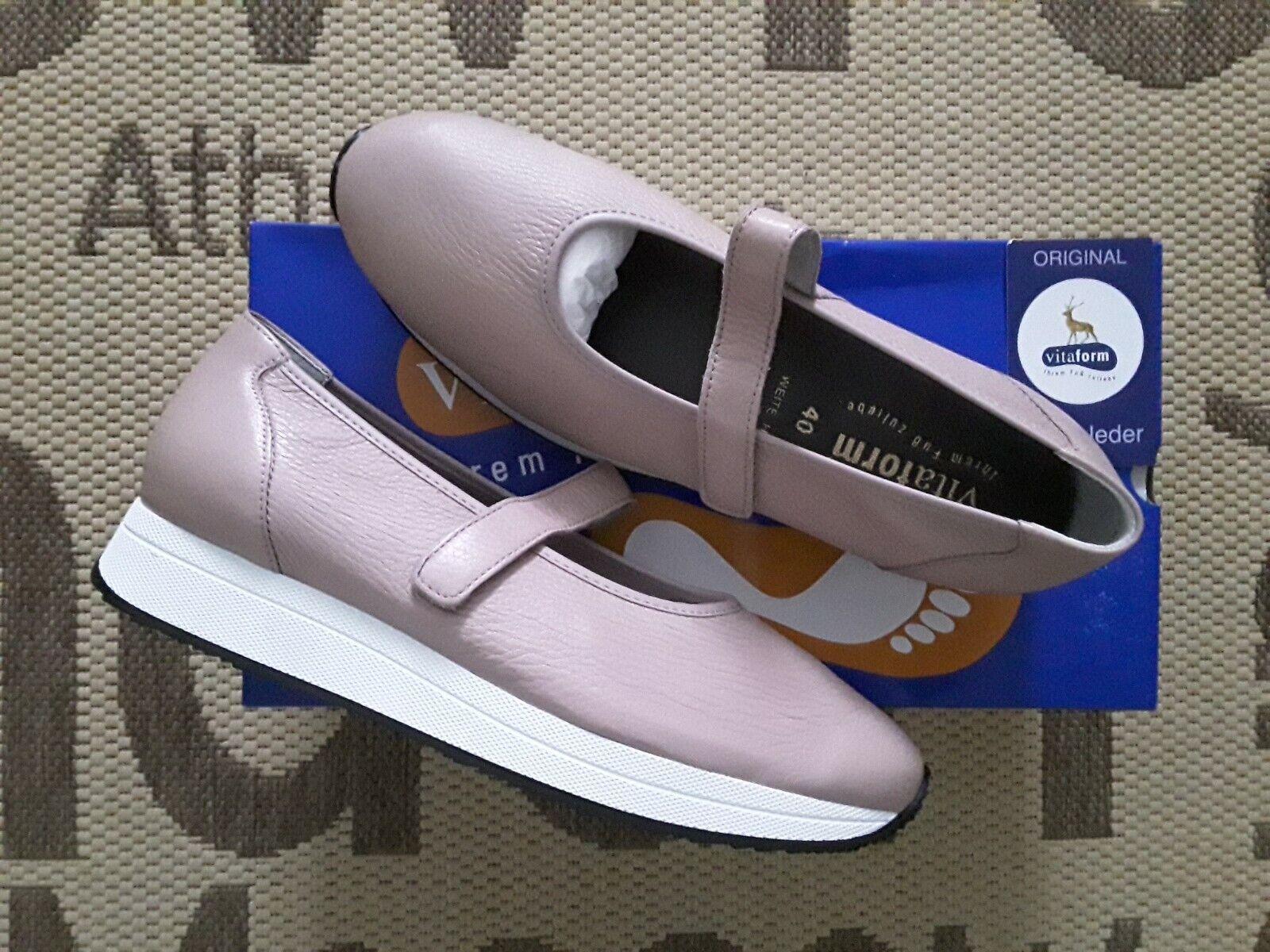 Schuhe, Leder Anti VITAFORM %%% NEU 40, Grosse Shock
