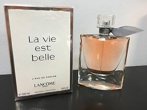 la vie est belle by lancome edp for women 100 ml 3 4 oz new in sealed box ebay